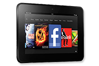 Amazon Kindle Fire HD Tablet PC im Vergleich