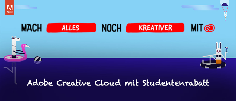 Adobe Creative Cloud Studentenrabatt