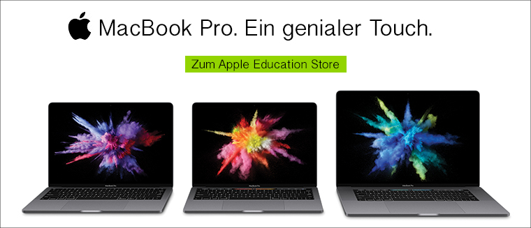 Apple MacBook Pro mit Studentenrabatt