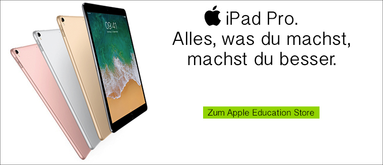 Apple iPad Pro mit Studentenrabatt
