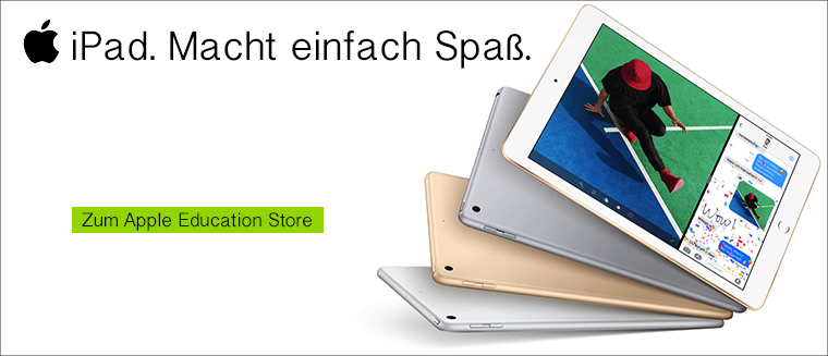 Apple iPad mit Studentenrabatt