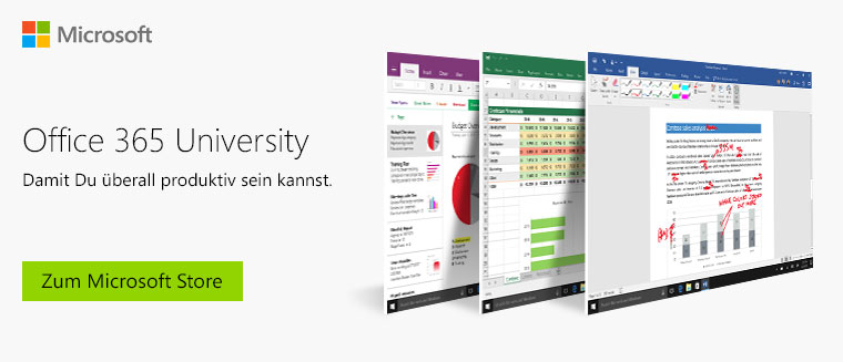 Unverzichtbar Fur Studenten Microsoft Office 365 University