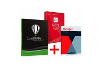 CorelDRAW Graphics Suite X8 + Mindjet MindManager 11 EDU + Avira Antivirus Suite 2014 Download