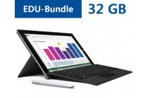Microsoft Surface 3 EDU-Bundle 32 GB inkl. Stift, TypeCover